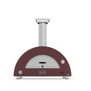 brio red pizza domestic oven 300x300 - Hybrydowy piec do pizzy Alfa Forni BRIO czerwony (drewno, gaz)