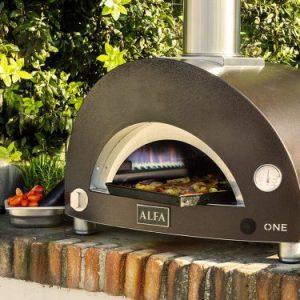 one gaz 300x300 - Piec do pizzy Alfa Forni ONE opalany gazem z podstawą