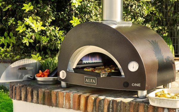 one gaz 600x375 - Piec do pizzy Alfa Forni ONE opalany gazem