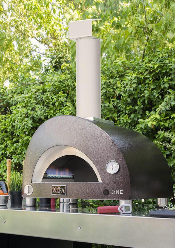 onegaz2 600x850 - Piec do pizzy Alfa Forni ONE opalany gazem