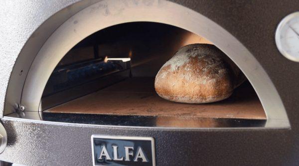 pizza forni 5 600x333 - Piec do pizzy Alfa Forni 5 MINUTI czerwony z podstawą