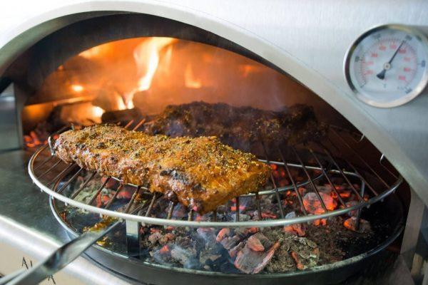 pizza forni 7 600x400 - Piec do pizzy Alfa Forni 5 MINUTI Miedziany z podstawą