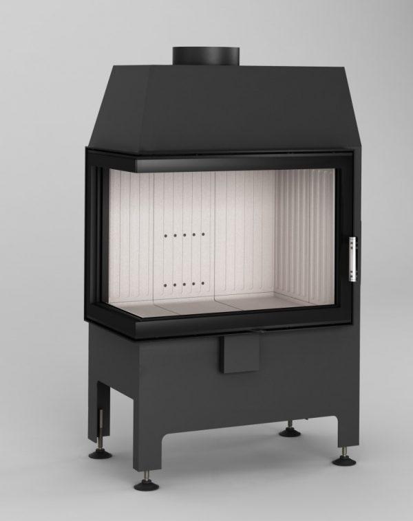 Heatro 55L 1 600x758 - Fireplace insert Hajduk Heatro 55L