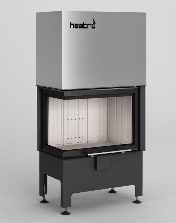 Heatro 55LH 600x758 - Wkład kominkowy Hajduk Heatro 55LH