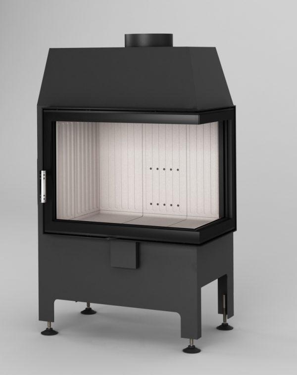 Heatro 55P 600x758 - Fireplace insert Hajduk Heatro 55P