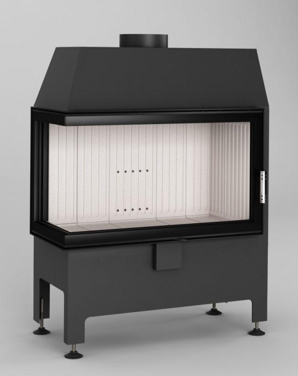 Heatro 69L 1 600x758 - Fireplace insert Hajduk Heatro 69L