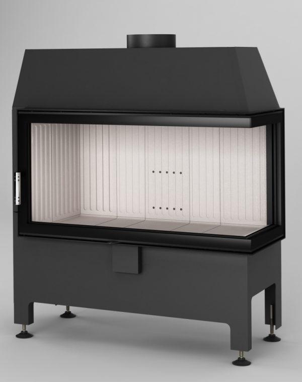 Heatro 81 P 600x758 - Fireplace insert Hajduk Heatro 81P