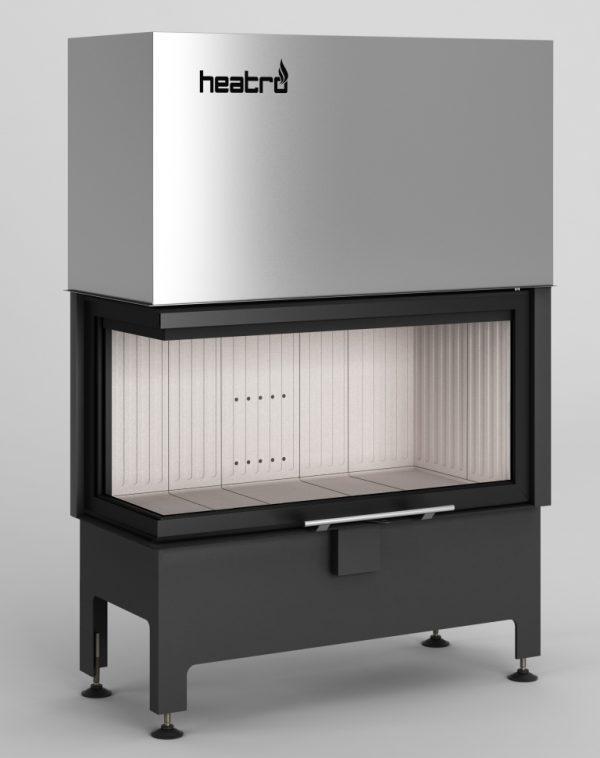 Heatro 81LH 600x758 - Fireplace insert Hajduk Heatro 81LH