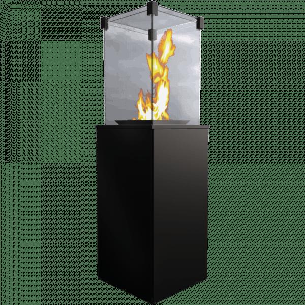 patio mini2 600x600 - Podgrzewacz gazowy  PATIO Mini czarny - sterowanie manualne + Pokrowiec
