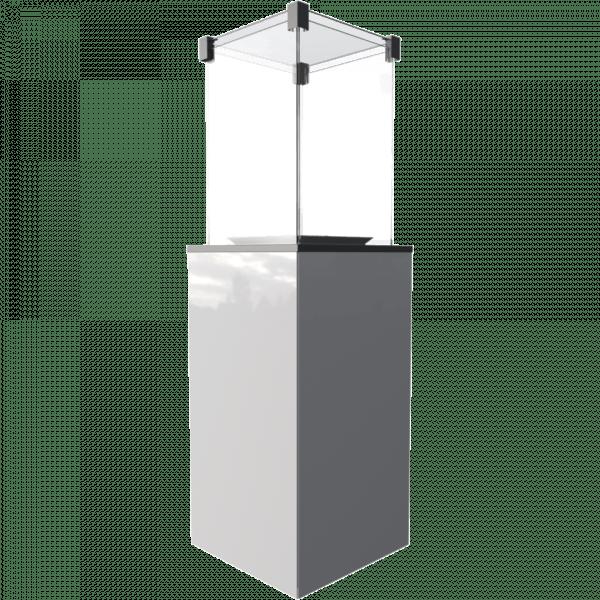 www ogrzewacz gazowy patio lacobel panel bialy 1 960 960 1 0 0 600x600 - Podgrzewacz gazowy  PATIO MINI szkło/biały  - sterowanie manualne