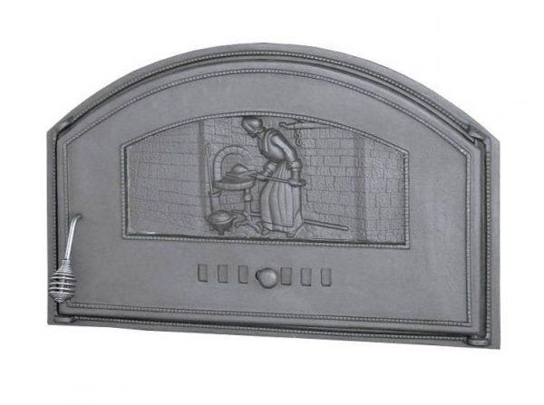DCHD2 p 600x447 - Drzwiczki żeliwne chlebowe  DCHD2-P