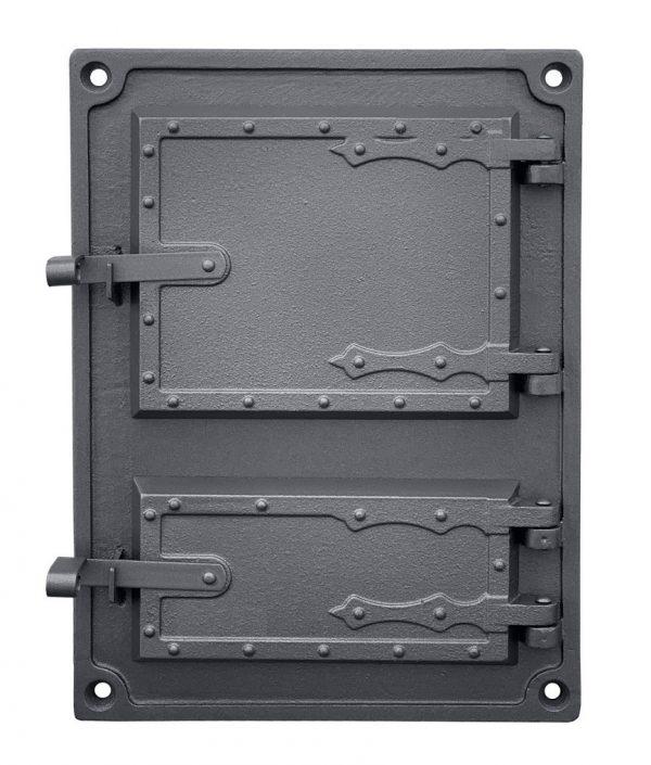 DPK4W 600x705 - Drzwiczki żeliwne kuchenne  DPK4W