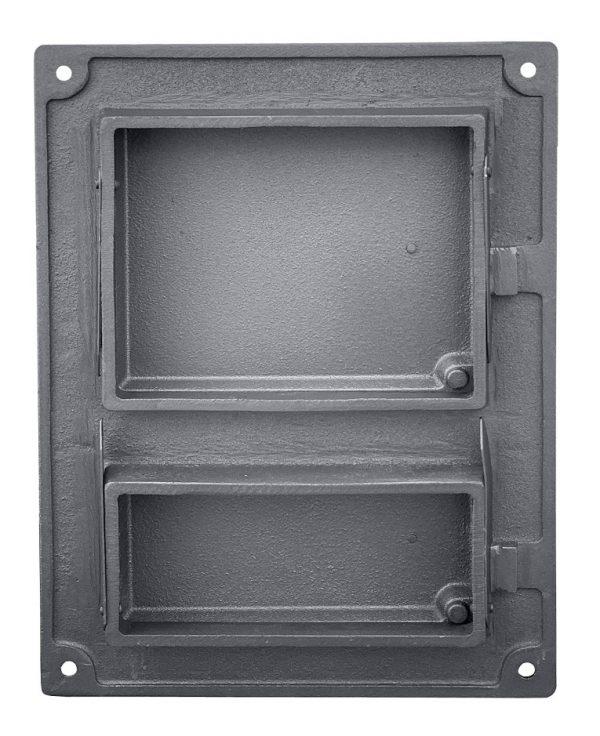 DPK4W2 600x736 - Drzwiczki żeliwne kuchenne  DPK4W