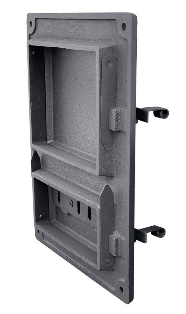DPK4W2r 600x1013 - Drzwiczki żeliwne kuchenne  DPK4WR