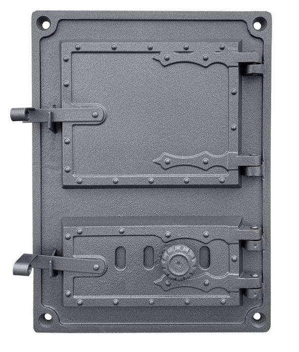 DPK4Wr 600x706 - Drzwiczki żeliwne kuchenne  DPK4WR