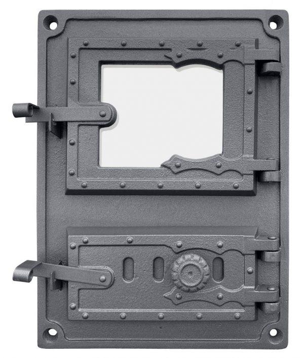 DPK8Wr 600x706 - Drzwiczki żeliwne kuchenne  DPK8W R