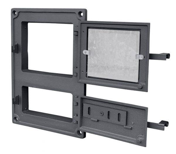 DPK8Wr1 600x527 - Drzwiczki żeliwne kuchenne  DPK8W R