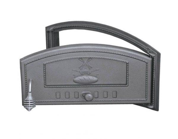 dch2 p 2 600x469 - Drzwiczki żeliwne DCH2-P