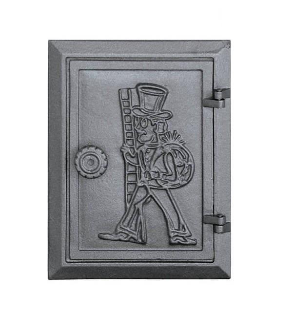 dkr4 - Drzwiczki żeliwne DKR 4