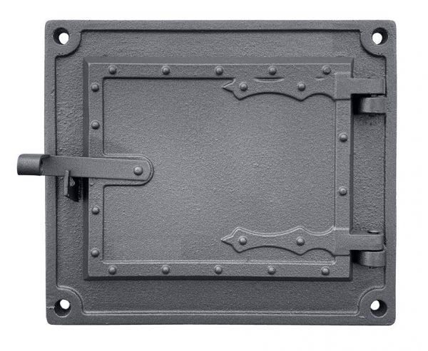 dpk16w 600x493 - Drzwiczki żeliwne kuchenne  DPK 16 W