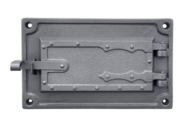 dpk3w 600x413 - Drzwiczki żeliwne kuchenne popielnikowe  DPK3W