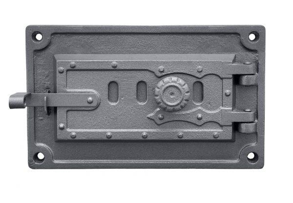 dpk3wr 600x415 - Drzwiczki żeliwne kuchenne popielnikowe  DPK3WR