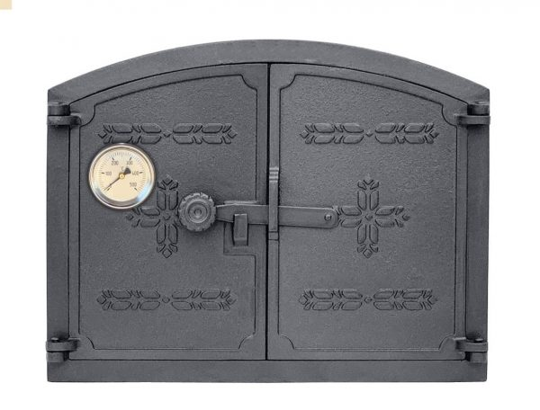 klos termometr 600x456 - Drzwiczki żeliwne KŁOS Termometr